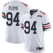 Wholesale Cheap Nike Bears #94 Leonard Floyd White Alternate Men's Stitched NFL Vapor Untouchable Limited 100th Season Jersey