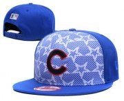 Wholesale Cheap MLB Chicago Cubs Snapback Ajustable Cap Hat GS 8