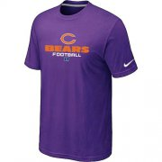 Wholesale Cheap Nike Chicago Bears Big & Tall Critical Victory NFL T-Shirt Purple