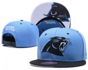 Wholesale Cheap NFL Carolina Panthers Team Logo Snapback Adjustable Hat L65
