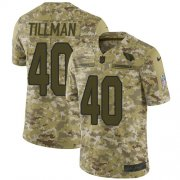 Wholesale Cheap Nike Cardinals #40 Pat Tillman Camo Men's Stitched NFL Limited 2018 Salute to Service Jersey