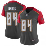 Wholesale Cheap Nike Buccaneers #84 Cameron Brate Gray Women's Stitched NFL Limited Inverted Legend Jersey