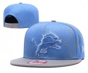 Wholesale Cheap NFL Detroit Lions Stitched Snapback Hat