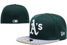 Wholesale Cheap Oakland Athletics fitted hats 04