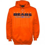 Wholesale Cheap Chicago Bears Critical Victory VI Hoodie Orange