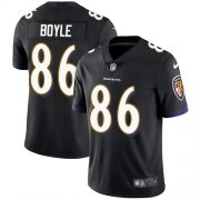 Wholesale Cheap Nike Ravens #86 Nick Boyle Black Alternate Youth Stitched NFL Vapor Untouchable Limited Jersey