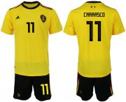 Wholesale Cheap Belgium #11 Carrasco Away Soccer Country Jersey