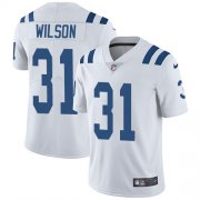 Wholesale Cheap Nike Colts #31 Quincy Wilson White Men's Stitched NFL Vapor Untouchable Limited Jersey