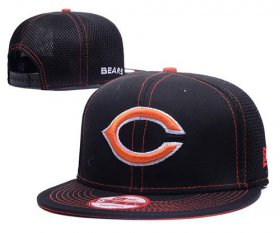Wholesale Cheap NFL Chicago Bears Stitched Snapback Hats 016