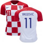 Wholesale Cheap Croatia #11 Brozovic Home Soccer Country Jersey