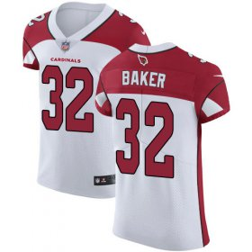 Wholesale Cheap Nike Cardinals #32 Budda Baker White Men\'s Stitched NFL Vapor Untouchable Elite Jersey