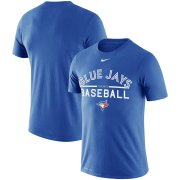 Wholesale Cheap Toronto Blue Jays Nike MLB Practice T-Shirt Royal