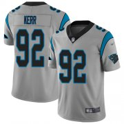 Wholesale Cheap Nike Panthers #92 Zach Kerr Silver Youth Stitched NFL Limited Inverted Legend Jersey