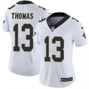 Wholesale Cheap Nike Saints #13 Michael Thomas White Women's Stitched NFL Vapor Untouchable Limited Jersey