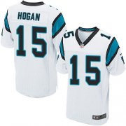 Wholesale Cheap Nike Panthers #15 Chris Hogan White Men's Stitched NFL Elite Jersey