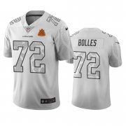 Wholesale Cheap Denver Broncos #72 Garett Bolles White Vapor Limited City Edition NFL Jersey