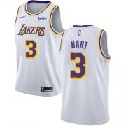Wholesale Cheap Men's Los Angeles Lakers #3 Josh Hart White Nike NBA Association Edition Authentic Jersey