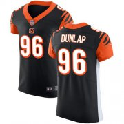 Wholesale Cheap Nike Bengals #96 Carlos Dunlap Black Team Color Men's Stitched NFL Vapor Untouchable Elite Jersey