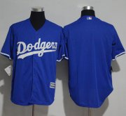 Wholesale Cheap Dodgers Blank Blue New Cool Base Stitched MLB Jersey