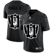 Wholesale Cheap Las Vegas Raiders #11 Henry Ruggs III Men's Nike Team Logo Dual Overlap Limited NFL Jersey Black