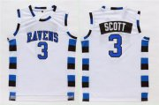 Wholesale Cheap One Three Hill 3 Scott White Stitched Jersey