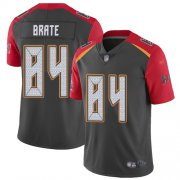 Wholesale Cheap Nike Buccaneers #84 Cameron Brate Gray Men's Stitched NFL Limited Inverted Legend Jersey