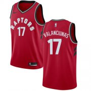 Wholesale Cheap Nike Raptors #17 Jonas Valanciunas Red NBA Swingman Icon Edition Jersey