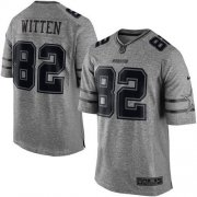 Wholesale Cheap Nike Cowboys #82 Jason Witten Gray Men's Stitched NFL Limited Gridiron Gray Jersey