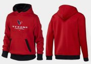 Wholesale Cheap Houston Texans Critical Victory Pullover Hoodie Red & Black