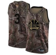 Wholesale Cheap Warriors #3 David West Camo 2019 Finals Bound Basketball Swingman Realtree Collection Jersey