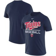 Wholesale Cheap Minnesota Twins Nike Wordmark Practice Performance T-Shirt Navy