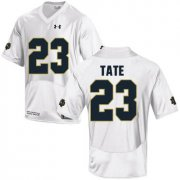Wholesale Cheap Notre Dame Fighting Irish 23 Golden Tate White College Football Jersey