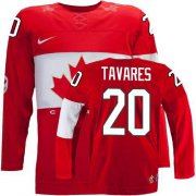 Wholesale Cheap Olympic 2014 CA. #20 John Tavares Red Stitched NHL Jersey