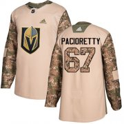 Wholesale Cheap Adidas Golden Knights #67 Max Pacioretty Camo Authentic 2017 Veterans Day Stitched NHL Jersey