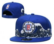 Wholesale Cheap Los Angeles Clippers Snapback Ajustable Cap Hat YD