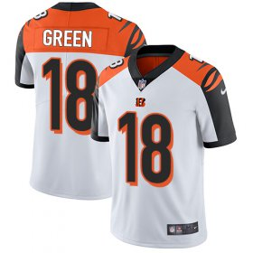 Wholesale Cheap Nike Bengals #18 A.J. Green White Youth Stitched NFL Vapor Untouchable Limited Jersey