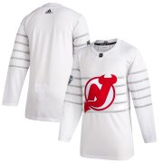 Wholesale Cheap Men's New Jersey Devils Adidas White 2020 NHL All-Star Game Authentic Jersey