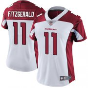 Wholesale Cheap Nike Cardinals #11 Larry Fitzgerald White Women's Stitched NFL Vapor Untouchable Limited Jersey