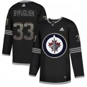 Wholesale Cheap Adidas Jets #33 Dustin Byfuglien Black Authentic Classic Stitched NHL Jersey