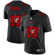 Wholesale Cheap Tampa Bay Buccaneers #13 Mike Evans Men's Nike Team Logo Dual Overlap Limited NFL Jersey Black