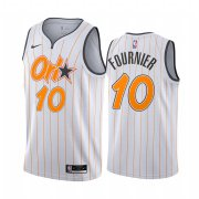 Wholesale Cheap Nike Magic #10 Evan Fournier White NBA Swingman 2020-21 City Edition Jersey