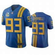 Wholesale Cheap Jacksonville Jaguars #93 Calais Campbell Royal Vapor Limited City Edition NFL Jersey
