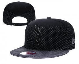 Wholesale Cheap MLB Chicago White Sox Snapback Ajustable Cap Hat 1