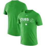 Wholesale Cheap Chicago Cubs Nike MLB Practice T-Shirt Green