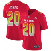 Wholesale Cheap Nike Dolphins #20 Reshad Jones Red Men's Stitched NFL Limited AFC 2018 Pro Bowl Jersey