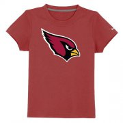 Wholesale Cheap Arizona Cardinals Sideline Legend Authentic Logo Youth T-Shirt Red