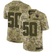 Wholesale Cheap Nike Jaguars #50 Telvin Smith Camo Men's Stitched NFL Limited 2018 Salute To Service Jersey