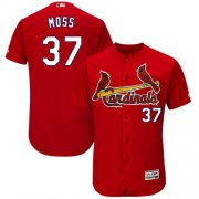 Wholesale Cheap Cardinals #37 Brandon Moss Red Flexbase Authentic Collection Stitched MLB Jersey
