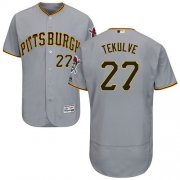 Wholesale Cheap Pirates #27 Kent Tekulve Grey Flexbase Authentic Collection Stitched MLB Jersey