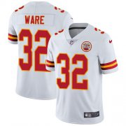 Wholesale Cheap Nike Chiefs #32 Spencer Ware White Men's Stitched NFL Vapor Untouchable Limited Jersey